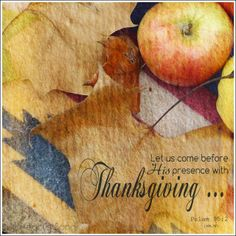 My Heart's Song: Sunday Morning - Gratitude