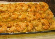 Lemon and Butter Baked Shrimp I used frozen cooked shrimp, 3 Tbsp butter