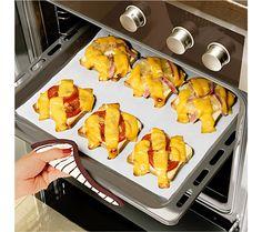 2 trvanlivé pečicí fólie, bílá | magnet-3pagen.cz #magnet3pagen #magnet3pagen_cz #magnet3pagencz #3pagen #kuchyn #peceni #baking
