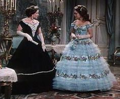 Sophie et Sissi - Sissi Sissi, Romy Schneider, Austria, Vintage Gowns, Victorian Dresses, Josh Dallas And Ginnifer Goodwin, Hoop Skirt, Elisabeth, Beautiful Wedding Gowns