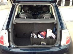 Before going on a fun road trip this spring, make sure your car is well-organized!