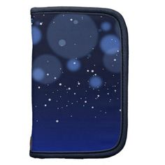 Bokeh Blue Abstract Starry Sky Planners