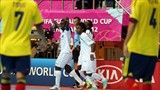 Samuel Osifelo of Solomon Islands celebrates scoring - FIFA.com