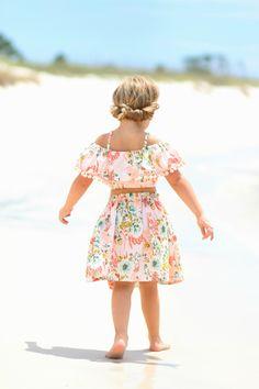 Midsummer Dream PDF Pattern 2T-14yrs Kids Patterns, Pdf Sewing Patterns, Midsummer Dream, Crop Top Pattern, Baby Girl Dress Patterns, Girls Crop Tops, Little Girl Dresses, Baby Sewing, Girl Fashion