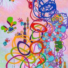 Este posibil ca imaginea să conţină: 1 persoană Gouache, Colored Pencils, Collage, Symbols, Ink, Detail, Paper, Painting, Instagram