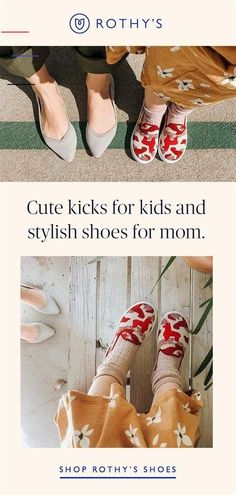 We have just the shoes for kids & parents alike. Our comfy styles are made for any adventure from carpool to the weekend soccer game. This chic footwear will take you where you need to go. Jojo's Fashion Show, Best Fashion Books, Fashion Advice, Style Fashion, Rothys Shoes, Kid Shoes, Santa Handprint Ornament, Fall Booties, Jeans Denim