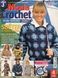 Moda Crochet Otoño 1 - Alejandra Tejedora - Picasa Web Albums