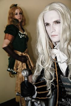 'That voice. Maria?' by *Elysium-Sans on deviantART (Castlevania: Symphony of the Night -- Alucard and Maria Renard) Photo courtesy of Franklin Teng.