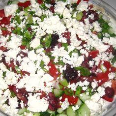Seven Layer Greek Dip Recipe Recipe - ZipList