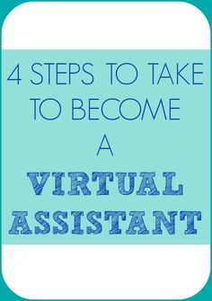 If you want to work as a virtual assistant, but are not sure how to get started, here are 4 steps you can take to launch your VA business.