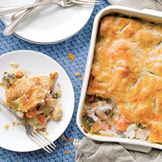 Harvest Time Chicken Pot Pie Coastalliving.com
