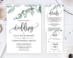 Check out our christmas svg selection for the very best in unique or custom, handmade pieces from our card making & stationery shops. Dinner Invitation Template, Pocket Wedding Invitations, Printable Wedding Invitations, Invite, Wedding Stationery, Rustic Wedding Programs, Wedding Matches, Wedding Ideas, Wedding Trends
