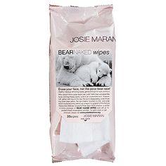 [Carry-On Bag]Josie Maran Bear Naked Wipes: Makeup Remover   Sephora