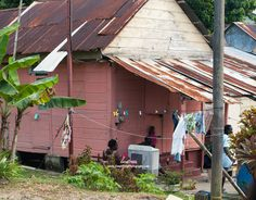An Old House in Trinidad by Zerina Phillip