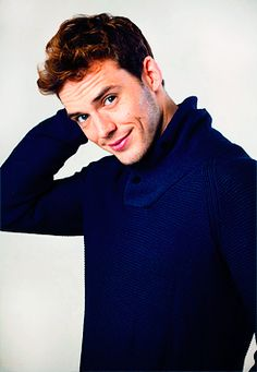 Sam Claflin. Dimples!