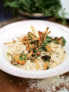 Mushroom Risotto | Rice Recipes | Jamie Oliver Recipes