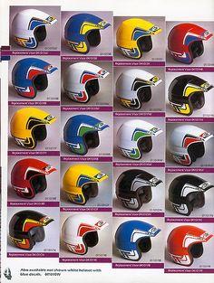 vintage racing helmet - Google Search