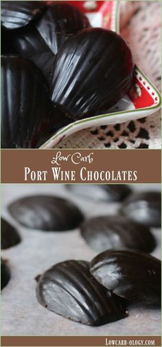 I love these easy, low carb port wine and dark chocolate fat bombs! Just 0.4 net carbs each! From Lowcarb-ology.com