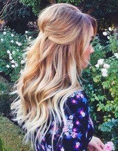 Half-Updo+Hairstyles+