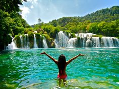Krka National Park, Croatia. Please take me here