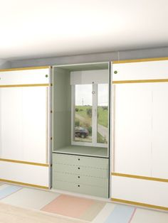 Dressing design with Kewlox cabinets - by Gwentibold