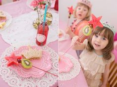 Create a menu perfectly suited to the birthday princess thats easy to make ahead of time so you can enjoy the party too!