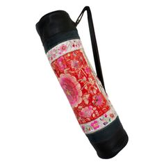 #Vintage #Miao #hilltribe and #Leather #Yoga #Mat #Bag #Carrier