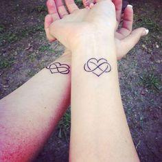 tatouage de coeur d'âme soeur