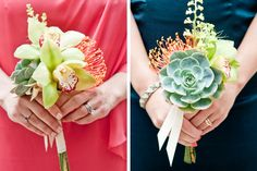 Such lovely bouquets!