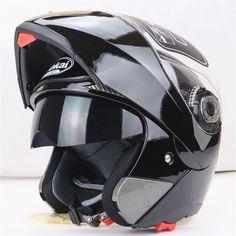 새로운 도착 최고의 판매 안전 플립 업 오토바이 헬멧 내부 태양 바이저 다들 저렴한 더블 렌즈 오토바이 헬멧