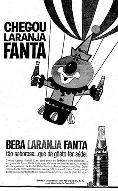 Primeira propaganda e Fanta no Brasil