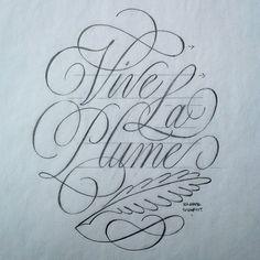 Sketch for my @printforgood Vive La Plume poster available at printforgood.co.uk. Proceeds go to charity!