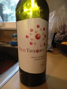 2013 Red Theory Cabernet Sauvignon - Columbia Valley - Light ruby red with ruby reflections. Plum, vanilla, sweet black cherry on the nose. Black cherry with milk chocolate, raspberry and strawberry on the palate. Medium body, soft tannins, easy drinking. Not at all complex but smooth and silky. Boring after 1 glass. 84 points. Buy to try at $12