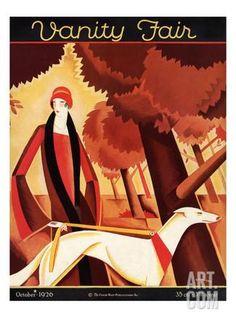 Vanity Fair Cover - October 1926 ジクレープリント by ビクター・ボブリスキ at Art.com