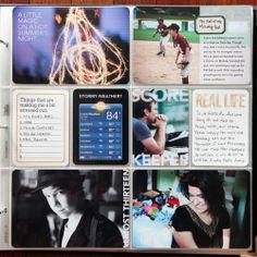 cathy zielske project life week 29 in 2012