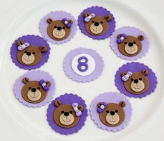 Emily's Delights: Teddy Bear Toppers