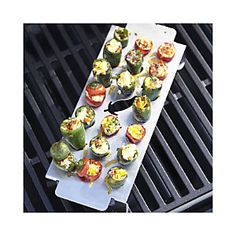 Prepare your favorite foods outside with bbq grills from Crate and Barrel. Browse grills and grill accessories including utensils, seasonings and more. Barbecue Grill, Grilling, Grill Rack, Grill Accessories, Grill Master, Outdoor Dining, Crate And Barrel, Summer Fun, Crates