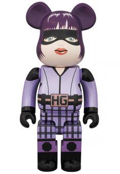 F/S Medicom Toy BE@RBRICK 400% KICK-ASS 2 HIT-GIRL Bearbrick Figure from Japan #MEDICOMTOY