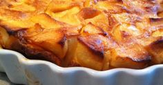 Flognarde limousine aux pommes – Recettes Discover our easy and quick recipe for apple flognarde limousine on Cuisine Actuelle! Quick Recipes, Apple Recipes, New Recipes, Vegetarian Recipes, Healthy Recipes, Fun Desserts, Dessert Recipes, Shortbread Crust, Macaroni And Cheese