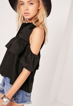 f2c04b3ffcabc Shop the cutest fall finds from Missguided on Keep! Frilly Shirt