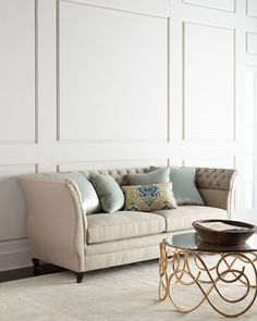 Majestic Lily Sofa by Haute House at Neiman Marcus.
