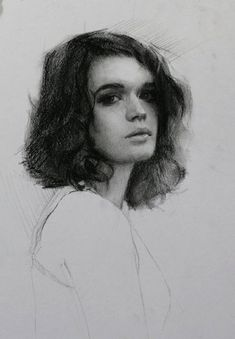 By Louis Smith. Discover The Secrets Of Drawing Realistic Pencil Portraits Portrait Sketches, Pencil Portrait, Portrait Art, Drawing Sketches, Portrait Paintings, Drawing Faces, Manga Drawing, Drawing Tips, Drawing Portraits