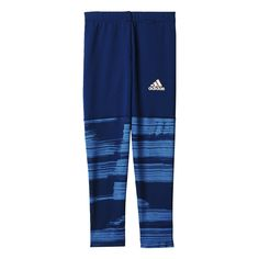 Shop our adidas Girls Tights in Blue from Excell Sports UK. Kits For Kids, These Girls, Elastic Waist, Girl Outfits, Tights, Trousers, Sweatpants, Adidas, Legs