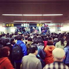 Instagram photo by @modelu shanghai-metro