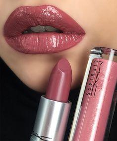 eye makeup - 45 Best MAC Lipstick Shades You Should Try MAC Shiny Pretty Things, Nude Mac Lipsticks, Mac Matte Lipstick, creamsheen mac lipstick Mac Lipstick Colors, Mac Lipstick Shades, Best Mac Lipstick, Mac Lipstick Swatches, Perfect Lipstick, Mac Matte Lipstick, Lip Colors, Mac Lipsticks, Maroon Lipstick