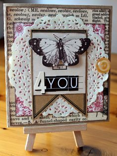 Tarrah McLean// 4 You Card-Christy's Challenge