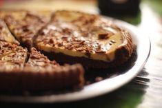 Čokoládovo - banánový koláčik