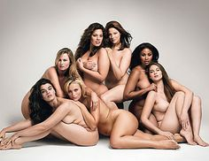 Supermodels Who Aren't Super Thin. I recognize most from Lane Bryant advertising/marketing.