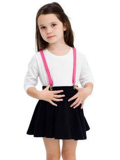 Cute outfit option for older girls 6-8 needs to be in the right colors a needs funky hair accessory, and maybe some knees highs with bows on them!