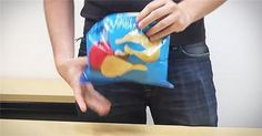 This Guy's Method Of Sealing Chips Is Genius! I've Been Doing It Wrong My Whole Life.